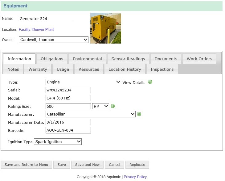 Preventive Maintenance Software | CMMS | Ecesis